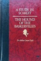 A Study in Scarlet & The Hound of the Baskervilles by ARTHUR CONAN DOYLE 1986 VG