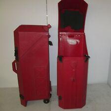 Nomadic Popup Display Hard Case Trade Show Exhibit Goods Plastic 38x19x15 Red