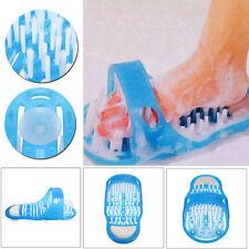 Easy Feet Cleaner Foot Spa Shower Brush Bath Massage Scrubber Flip Flop Slippers