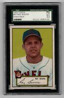 1952 Topps Baseball #55 Ray Boone (black back) - SGC 5.5 EX+   **CENTERED**