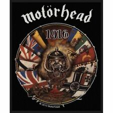 Motorhead 1916 Sew On Patch Woven Music Official Band Rock Heavy Metal
