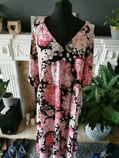 BNWT H&M Calf Length Floral Dress Size M UK 12