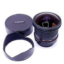 Rokinon 8mm F/3.5 HD Fisheye Lens with Removable Hood for Sony Alpha A Mount