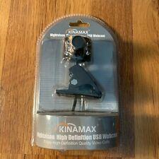 Kinamax 6-LED Infrared Nightvision High Definition USB Webcam WCM-6LNV