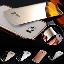 Aluminum Mirror Ultra-thin Metal Case Cover for Samsung Galaxy S6/Edge S4 S5 S3