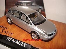 NOREV RENAULT VELSATIS 3.5 V6 PHASE 2 GRIS PLATINE 2005 au 1/43°