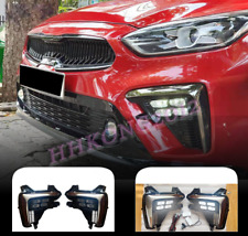For Kia Forte 2019-2021 2 Color LED Daytime Running Light DRL Front Fog Light