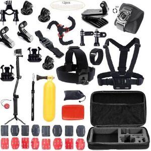 Accessories Kit Mount for Gopro Hero Xiaomi yi 7 6 5 4 session 3+3 2SJCAM SJ4 5