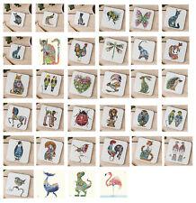 The DM Collection Coasters Animal Bird Drinks Coasters Daniel Mackie