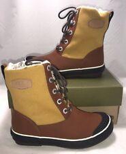 Keen Womens Size 5 Elsa Boot Bronze Mist Waterproof Lace Up Winter Boots New
