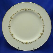 """A ROYAL WORCESTER 'GOLD CHANTILLY' 8"""" SALAD PLATE"""