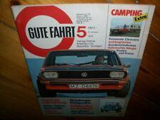 Zeitschrift für VW Gute Fahrt Nr.5  1974 VW KÄfer Cabrio Scirocco Passat