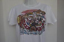 Threadless, Neko Takarabune- Size L- White T Shirt- NWT