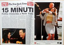 FOTOBUSTA LOBBY CARD 15 MINUTI FOLLIA OMICIDA A NEW YORK DE NIRO EDWARD BURNS