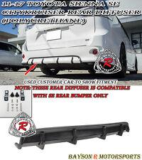CityKruiser Rear Bumper Diffuser (PU) [SE Model Only] Fits 11-17 Toyota Sienna