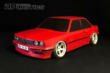 RC Body Car Drift Touring 1:10 BMW 3 E 30 Coupe Stock style APlastics New Shell