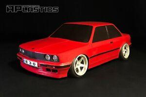 RC Body Car Drift Touring 1:10 BMW 3 E 30 Coupe Stock style APlastics New Shell