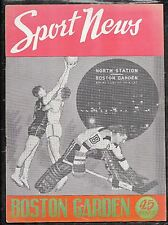 11-14-47 PHILADELPHIA @ BOSTON BAA BASKETBALL PROGRAM - HOME OPENER CELTS