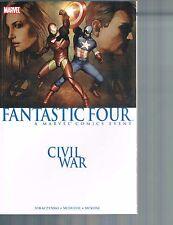 Civil War: Fantastic Four by McDuffie, Straczynski & McKone 2007 TPB Marvel