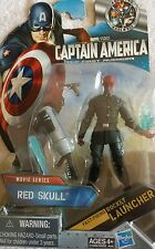 Captain America RED SKULL Movie Series Action Figure with Rocket Launcher