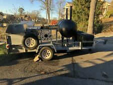 2000 8 X 16 Open Barbecue Smoker Tailgating Trailer For Sale In Alabama Work