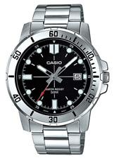 Reloj Analogico CASIO MTP-VD01D-1E - Correa De Acero - Dia Del Mes - 50 BAR