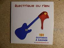 CD SINGLE JUKEBOX BABIES Electrique ou rien JBB01/1 Offert par BUB N DORFF