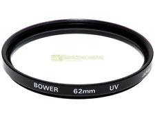 62mm. filtro UV Bower. Ultra violet filter.