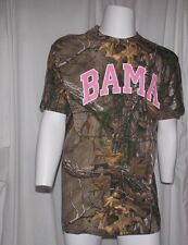 NWOT NCAA ALABAMA BAMA ROLL TIDE Unisex Adult Large REALTREE CAMO The Game