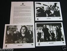 THE POOR 'WHO CARES?' 1994 PRESS KIT—3 PHOTOS