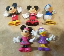 New listing Lot of 5 Disney Mickey Mouse Clubhouse Figures Minnie Daisy Donald