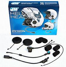 J&M Series Helmet Headset For Flip-Up/Open Face/Full Face Style HS-CD9279-UN-HO