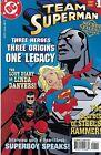 Team Superman Comic 1 Secret Files Cover A Klein First Print 1998 Karl Kesel DC