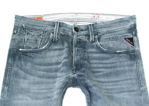 REPLAY MORESK HERREN JEANS – W33 L32 doc billstrong**TOP 2021 33/32 **