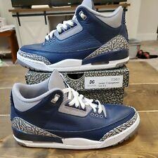 Nike Air Jordan 3 Retro 'Georgetown' Men's Size 8.5 Midnight Navy CT8532-401