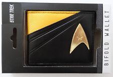 Star Trek Captain Kirk Metal Badge Gift Box Bifold Wallet