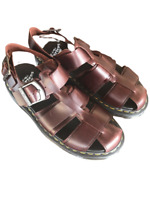 Dr Martens Kassion Leather Fisherman Sandals Men's Size 10 - Womens Size 11 New