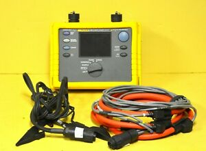 Fluke 1735 Three Phase Power Energy Logger Analyst 10.24 kHz Analyzer