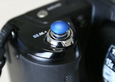 Lolumina 10mm Blue Soft Shutter Release Button for Fujifilm X-T1 Sony A7