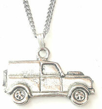 Classic Car L Pendant Handcrafted in Solid Pewter In The UK + Free GiftBox PN77