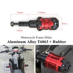 Universal Motorcycle Frame Slider Frame Slider Anti-Crash Protection Falling