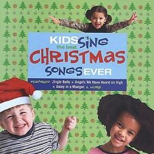 Kids Sing the Best Christmas Songs Ever by Various Artists (CD, Sep-2003, Sony B