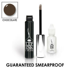 LIP INK Organic  Smearproof Liquid Eyeshadow Gel - Chocolate Brown