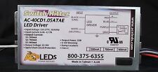 AC ELECTRONICS AC-40CD1.05ATAE 35 WATT LED DRIVER! SWITCH HITTER!!CREE APPROVED!