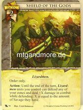 Warhammer Invasion - 2x Shield of the Gods  #098 - Portent of Doom