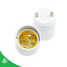 2 Pack GU24 to E26 or E27 LED Light Bulb Lamp Holder Adapter Socket