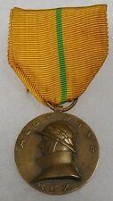 ORIGINAL Vintage BELGIUM KING ALBERT 1909-1934 MILITARY SERVICE MEDAL