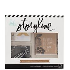 Heidi Swapp Storyline - Deck of Days - Storyline Everyday