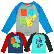 Pikachu 100% Cotton T-Shirts & Tops (2-16 Years) for Boys