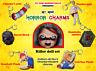 6 SCARY CHUCKY CHARMS - KILLER DOLL SET - HORROR KEYCHAINS - CHILD'S PLAY